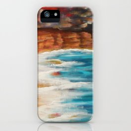 Moroccan Sea Spray iPhone Case