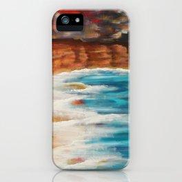 Moroccan Sea Spray iPhone Case