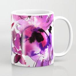 Sara Floral Pink Coffee Mug