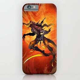 The God of Fire iPhone Case