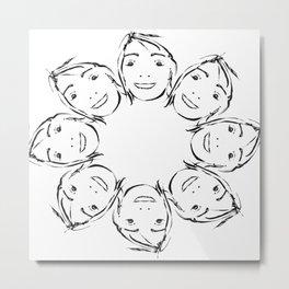 rostidade faces Metal Print