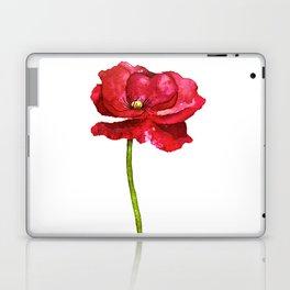 Ink Poppy Painting (Original Artwork) Laptop & iPad Skin