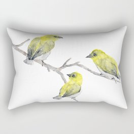 Finch Bird Rectangular Pillow