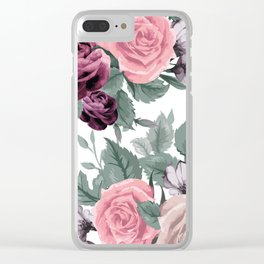 FLOWERS VIII Clear iPhone Case