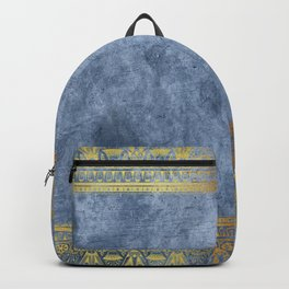 Blue Egypt Backpack