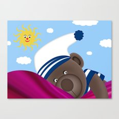 Good Morning Mummy Canvas Print
