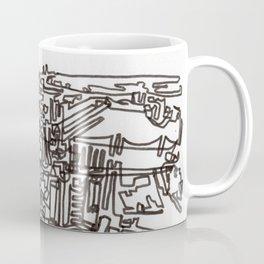 Lower Manhattan Line Coffee Mug