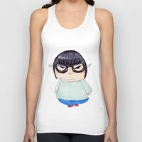 korea Tank Tops featuring Korea by amaiaacilu