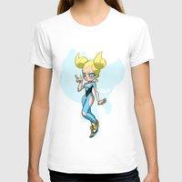 powerpuff girls T-shirts featuring Bubbles - The Powerpuff Girls by zeoarts