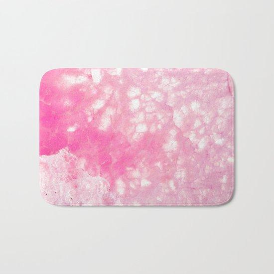 Pink Ice Bath Mat
