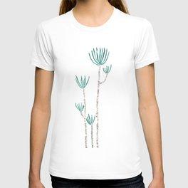 indoor palm tree watercolor T-shirt