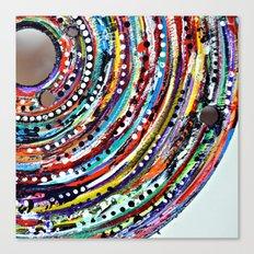 Color Vortex Canvas Print