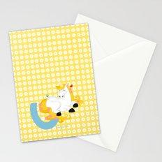 u for unicorn Stationery Cards