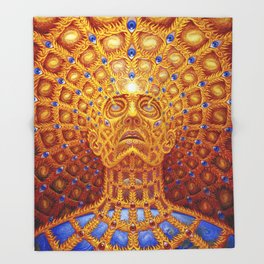alex grey human being tour 2019 nggateli Throw Blanket