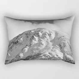 Snowy Alaskan Mountain - 2 Rectangular Pillow