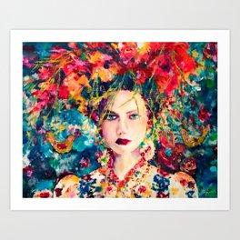 Frida-esque' Art Print