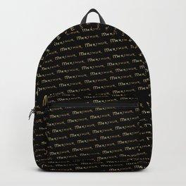 Merthur logo Pattern Backpack