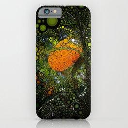 Kumquat Mosaic iPhone Case