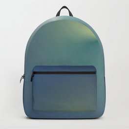 La vague bleu ciel Backpack