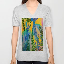 The Small Picture Collection: GROWTH Unisex V-Neck