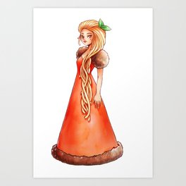 Spaghetti Bolognese Art Print