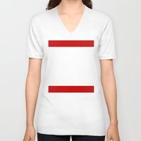 forrest gump V-neck T-shirts featuring Forrest Gump Run by Spyck