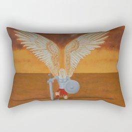 Battle Angel Rectangular Pillow