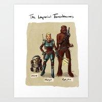 tenenbaums Art Prints featuring The Imperial Tenenbaums by carbonatedink