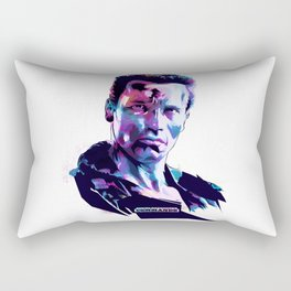 Arnold Schwarzenegger: BAD ACTORS Rectangular Pillow