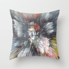 Abstract night Throw Pillow