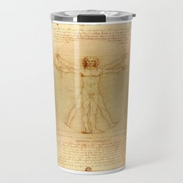 Vitruvian Man, Da Vinci Travel Mug