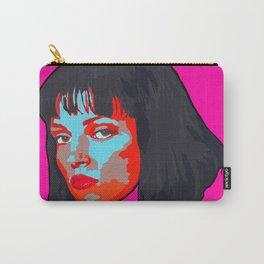 Pulp Fiction Mia Wallace Portrait Carry-All Pouch