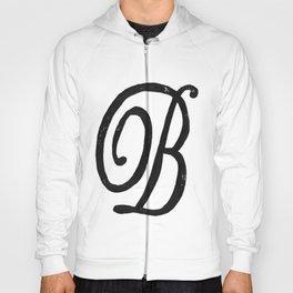 Monogrammed Letter B Hoody
