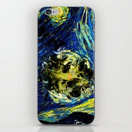 cheshire starry night   iPhone Skin