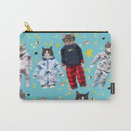 Cat Naps & Sushi Dreams by Crow Creek Coolture Carry-All Pouch