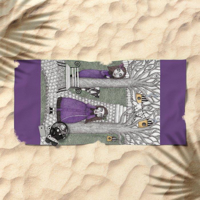 Hide and Seek Beach Towel