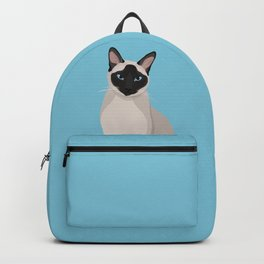 The Regal Siamese Cat Backpack