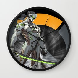 Genji Wall Clock