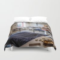victorian Duvet Covers featuring Victorian Ward by Adrian Evans