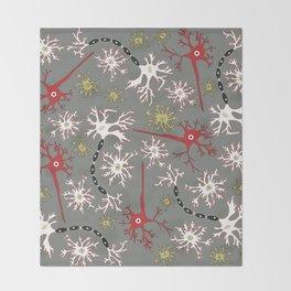 Neuron Nerd Throw Blanket