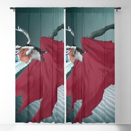 Red Angel Blackout Curtain