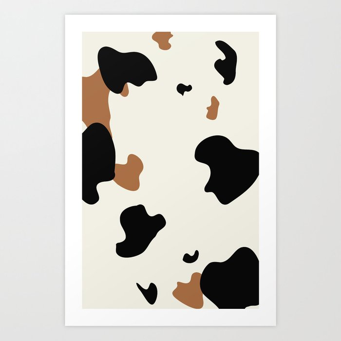 Cowhide Pattern Kunstdrucke