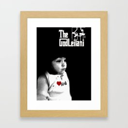 God leilani (a girft for my nephew who didnt decide on what he wanted) Framed Art Print