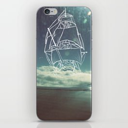 Sail the Skies iPhone Skin