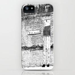 Blow Oskar iPhone Case