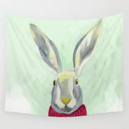 Warm Bunny Wall Tapestry