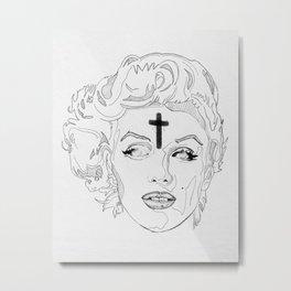 Dead Monroe Metal Print