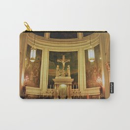 Yellow Church Carry-All Pouch