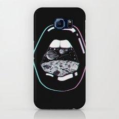 Space Lips Black Galaxy S8 Slim Case