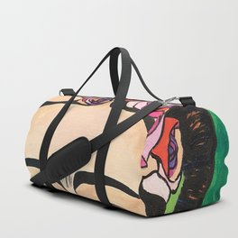 Frida Khalo Portrait Duffle Bag